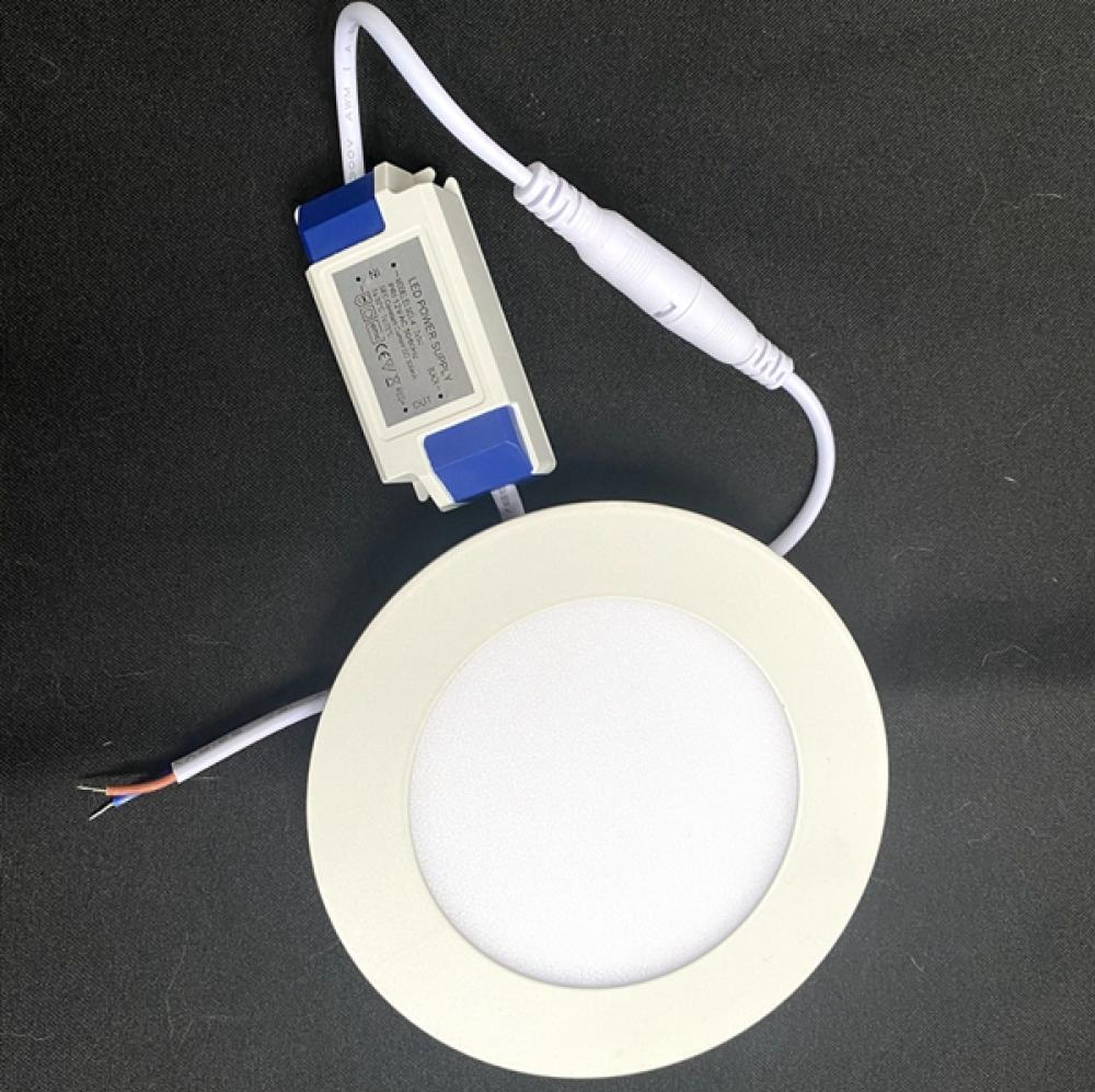 6W/12V LED Slim Recessed Downlight