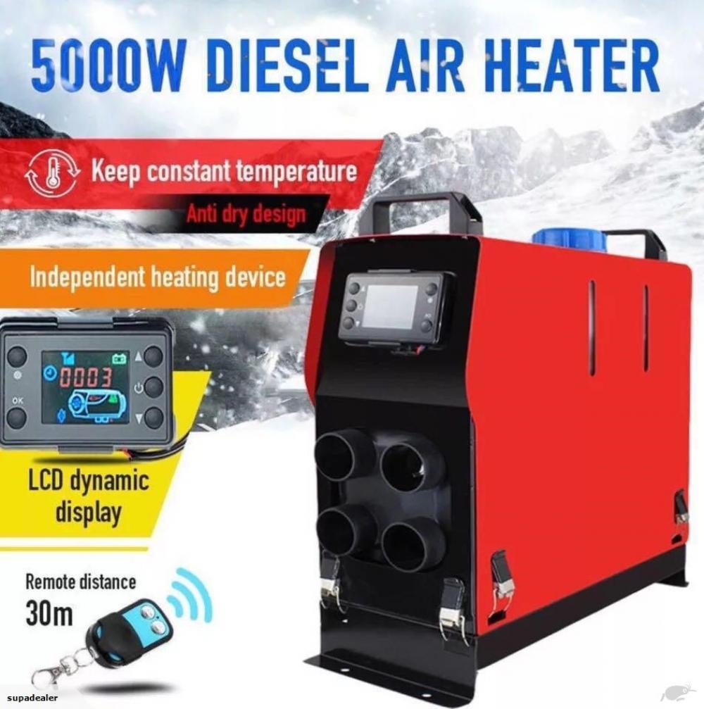 All In One 12V 5000W Diesel Heater