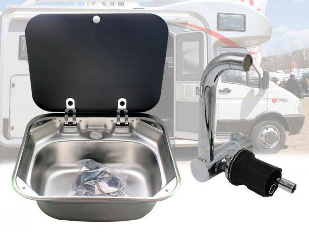 RV Stainless Steel Sink with Complete Package