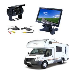 Wireless 7 Inch Reversing Camera System 12V Caravan,Truck