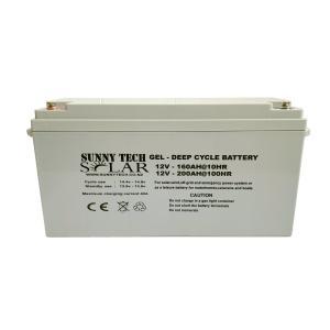 Gel Deep Cycle Solar Storage Battery 12V 200AH Maintenanc Free